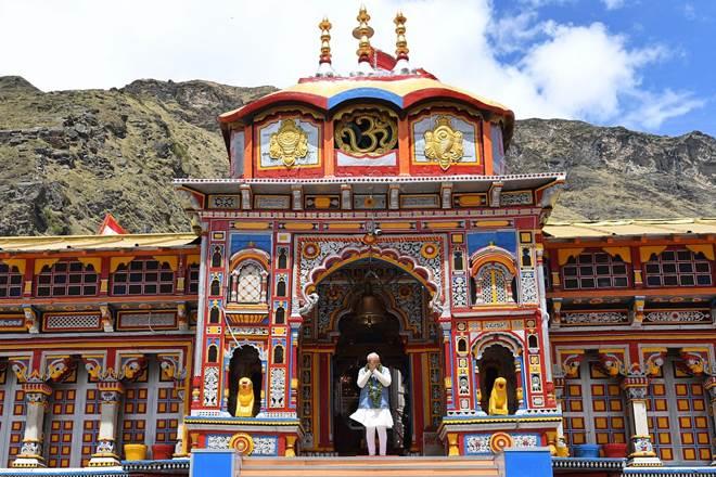 Badrinath-shrine
