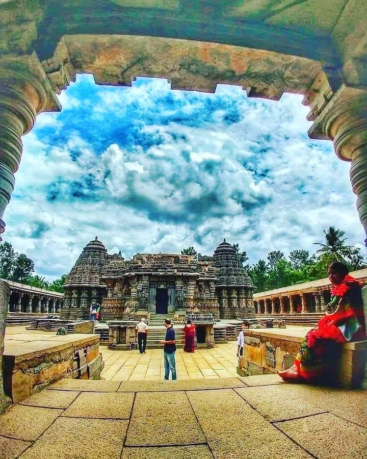 Chennakesava Temple, Somanathapura ,Mysuru. built in 1258 CE. . . . #lost #templ...