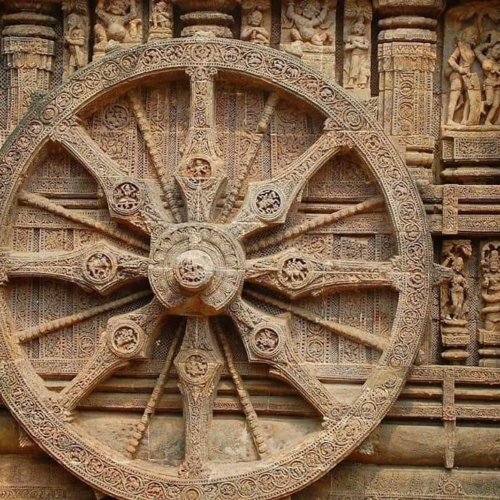 Konark Sun Temple is a 13th-century CE sun temple at Konark about 35 kilometres ...