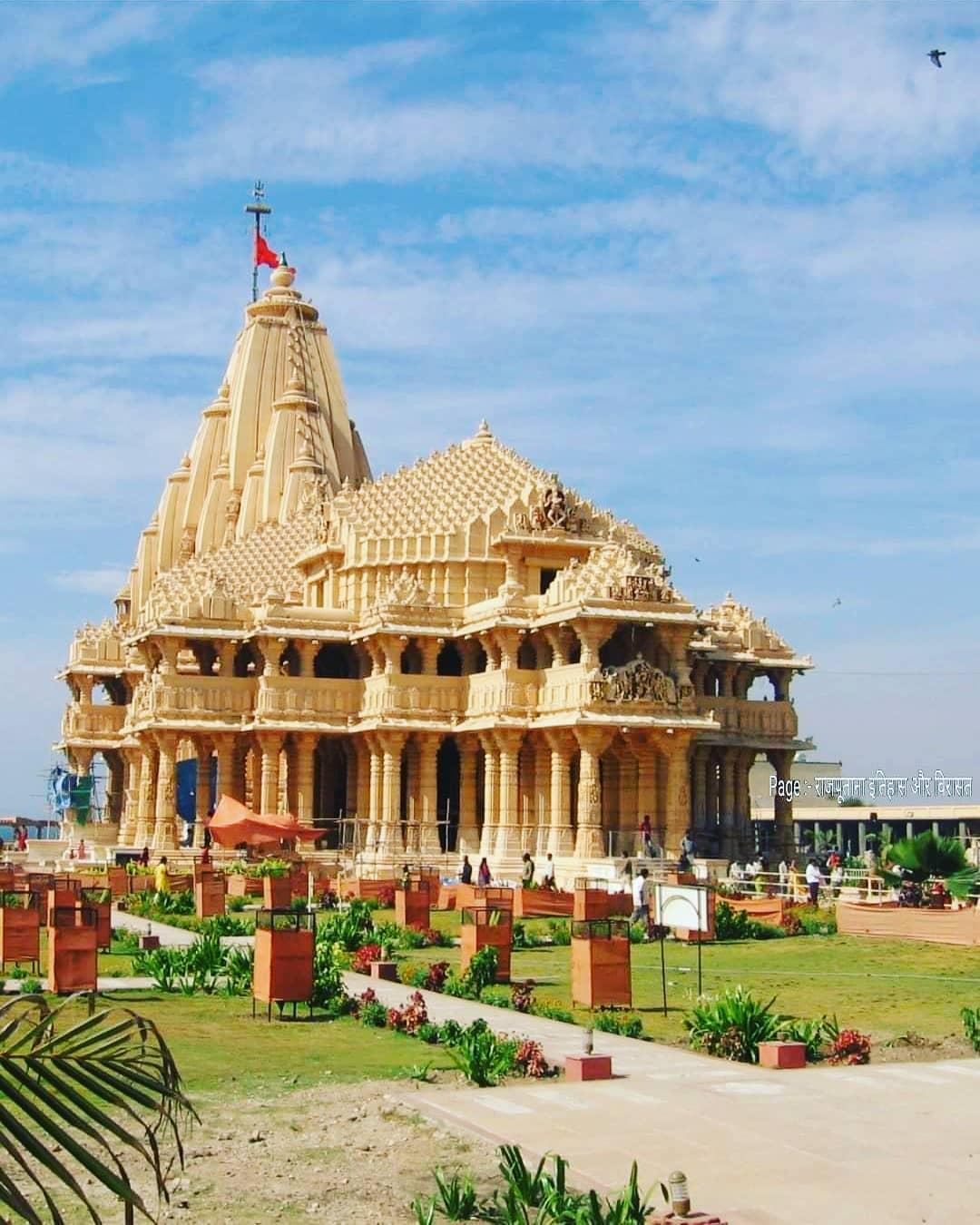 SOMNATH!  PC : Rajputana Itihaas Aur Virasat#lost #temple #temples #losttemple...