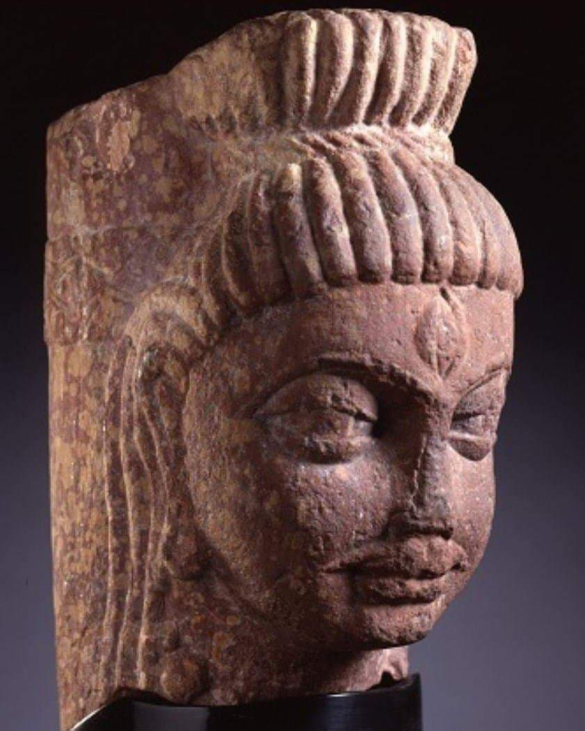 Shivalinga, India, Uttar Pradesh, Mathura, late 4th century Now in LACMA museum...