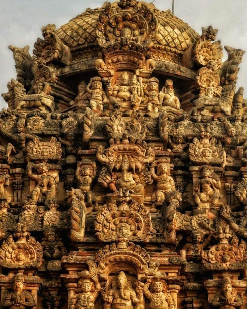 The incredible sikhara of brihadishvara temple, thanjavur what is astonishing is...